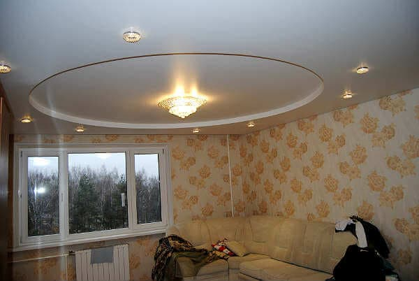 Натяжные потолки на тканевой основе