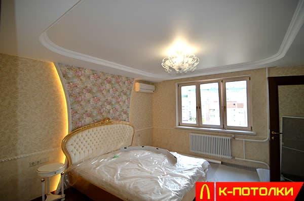 Какой потолок лучше выбрать в комнату